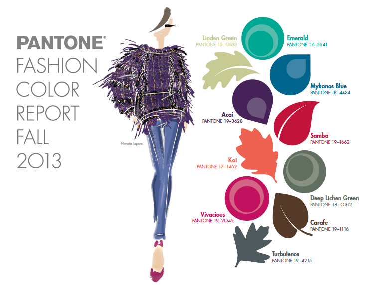 Dallas Wedding Planner, Dallas Event Planner, Pantone, Fall Color Trend, 2013 Fashion Report
