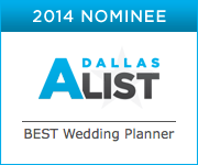 Dallas Wedding Planner, Dallas Event Planner, Dallas A-List, Best Wedding Planner, Vote