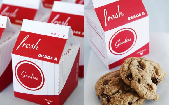 11Edible Favor - Milk and Cookies