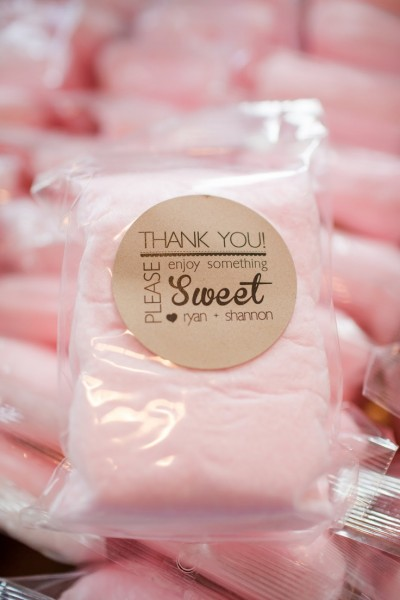 16Edible Favor - Cotton Candy
