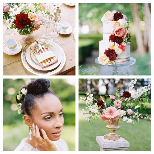 Dallas Wedding Planner, Dallas Event Planner, Ebony Peoples Events & Design, Marie Gabrielle, Ben Q. Photography, Style Me Pretty