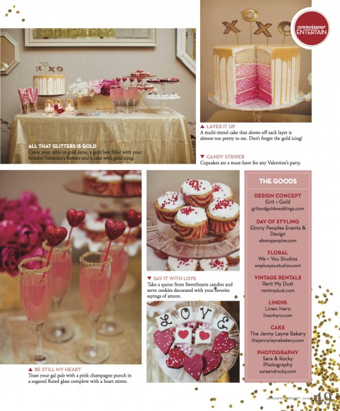 Dallas Wedding Planner, Dallas Event Planner, Ebony Peoples Events & Design, Valentine's Day, Cupcakes & Cocktails