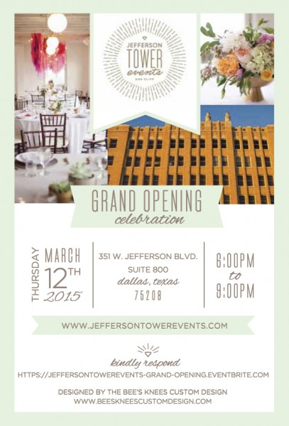 JTE Grand Opening - Front